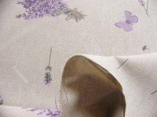 画像5: 「即納F」はぎれ70x50:ブーケ・ド・ラヴァンド(ライトベージュベース)/ 95g (5)