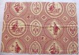 「即納F」はぎれ75x50:Casal古代の光景(1:赤) /65g