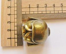 画像2: 「即納F」取っ手:ブルジェオン径3.3cm(アンティークゴールド)/110g (2)