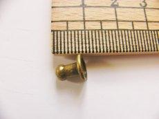 画像2: 「即納F」つまみ金具5mmアンティークゴールド/10g (2)