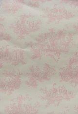【送料込み】「即納F」壁紙:tdjプロヴァンス(ピンク)10m巻き /1400g