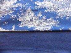 画像8: 「即納F」はぎれ70×50:ラーヴ(色番89マリンブルー、麻)/ 110g (8)