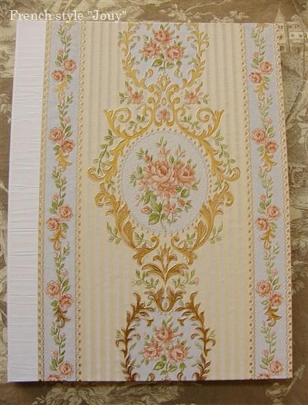 ヨーロッパ壁紙使用例