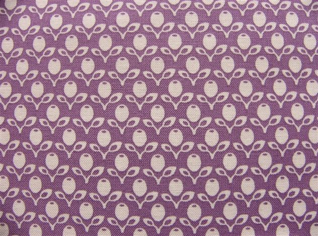 画像1: 「即納F」はぎれ72x50:フレンチガーデン(紫) /65g