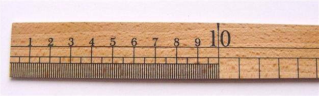 画像2: 「即納F」ウレス製定規35cm /65g