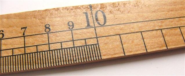 画像3: 「即納F」ウレス製定規35cm /65g