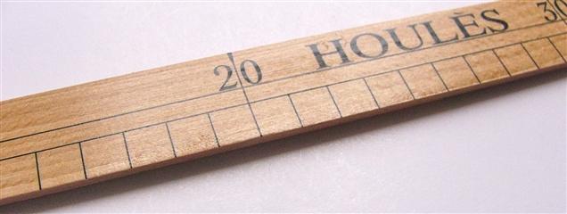 画像4: 「即納F」ウレス製定規35cm /65g