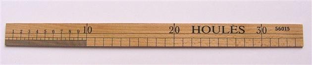 画像5: 「即納F」ウレス製定規35cm /65g