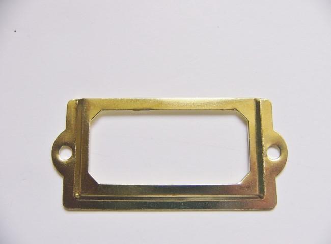 画像2: 「即納F」ネームプレート70x33mm(ゴールド) /20g
