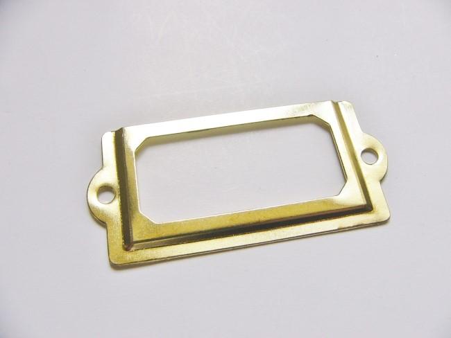 画像4: 「即納F」ネームプレート70x33mm(ゴールド) /20g