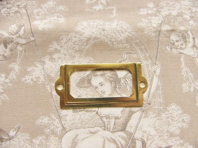 画像5: 「即納F」ネームプレート70x33mm(ゴールド) /20g