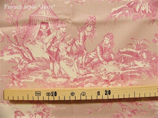 画像2: 「即納F」布:水の物語(ピンクベース)/380g