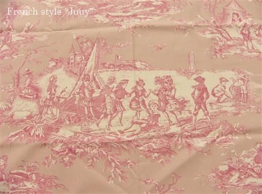 画像4: 「即納F」布:水の物語(ピンクベース)/380g