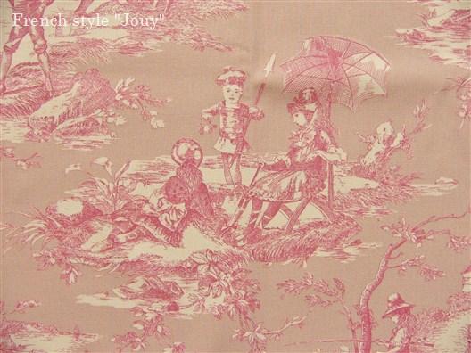 画像5: 「即納F」布:水の物語(ピンクベース)/380g
