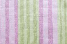 画像6: 「F在庫」はぎれ68×50:バーリントン(ストライプ、濃いピンク・グリーン) (6)