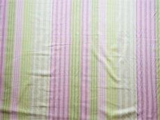 画像17: 「F在庫」はぎれ68×50:バーリントン(ストライプ、濃いピンク・グリーン) (17)