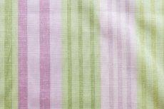 画像18: 「F在庫」はぎれ68×50:バーリントン(ストライプ、濃いピンク・グリーン) (18)
