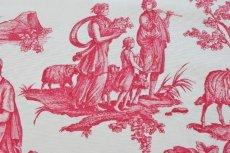 画像13: 「即納F」はぎれ75x50:Casalオフランド・ア・ラムール(赤)/80g (13)