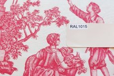 画像16: 「即納F」はぎれ75x50:Casalオフランド・ア・ラムール(赤)/80g (16)