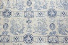 画像1: 「即納F」はぎれ75x50:Casal狩人の女神ディアナ(16:ブルー) /80g (1)