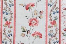 画像12: 「即納F」はぎれ73x50:シャルロット(ホワイトベース赤・ブルー)/80g (12)
