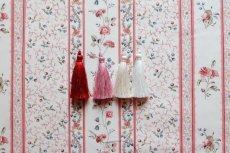 画像14: 「即納F」はぎれ73x50:シャルロット(ホワイトベース赤・ブルー)/80g (14)
