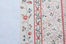 画像15: 「即納F」はぎれ73x50:シャルロット(ホワイトベース赤・ブルー)/80g (15)