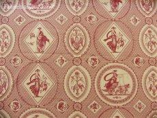 画像2: 「即納J/F」はぎれ75x50:Casal古代の光景(1:赤) /65g (2)
