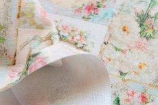 画像3: 「即納J」はぎれ70×50:プティット・カルト・ド・ローズ(ベビーピンク、小柄) / 75g (3)