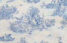 画像12: 「J即納/F在庫」はぎれ70×50:ミニパストラル(ブルー、小柄)/60g (12)