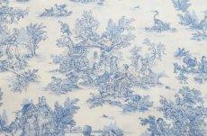 画像13: 「J即納/F在庫」はぎれ70×50:ミニパストラル(ブルー、小柄)/60g (13)