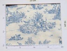 画像3: 「即納F」はぎれ70×50:ミニパストラル(ブルー、小柄)/60g (3)