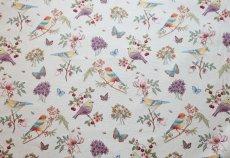 画像10: 「即納F」はぎれ70x50:ゴブラン織りプランタン(ベージュベース小鳥)/ 165g (10)