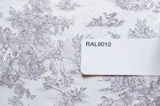 画像7: 「即納J/即納F」はぎれ70×50:ミニパストラル(グレイ、小柄)/60g (7)