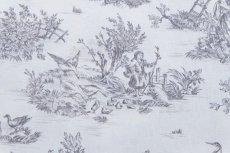画像9: 「即納J/即納F」はぎれ70×50:ミニパストラル(グレイ、小柄)/60g (9)