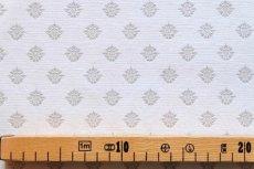 画像3: 「J即納/F在庫」はぎれ75x50:メディシス(ジャカード、グレイ) /130g (3)