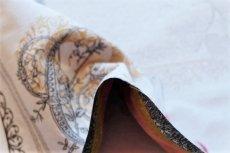 画像9: 「即納F」はぎれ70x50:リボンデコレーション・パリ(ジャカード、ベージュベースグレイ、ピンク)/140g (9)