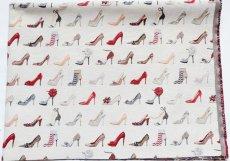 画像4: 「F在庫」はぎれ70×50:ゴブラン織り タロン・エギュイーユ(ライトアイボリーベース) (4)