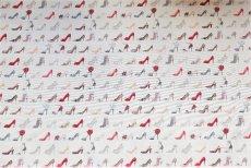 画像13: 「F在庫」はぎれ70×50:ゴブラン織り タロン・エギュイーユ(ライトアイボリーベース) (13)