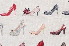 画像16: 「F在庫」はぎれ70×50:ゴブラン織り タロン・エギュイーユ(ライトアイボリーベース) (16)