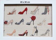 画像5: 「F在庫」はぎれ70×50:ゴブラン織り タロン・エギュイーユ(ライトアイボリーベース) (5)