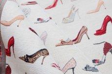 画像7: 「F在庫」はぎれ70×50:ゴブラン織り タロン・エギュイーユ(ライトアイボリーベース) (7)