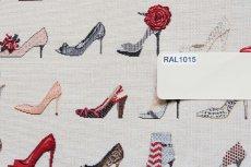 画像10: 「F在庫」はぎれ70×50:ゴブラン織り タロン・エギュイーユ(ライトアイボリーベース) (10)