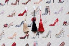 画像11: 「F在庫」はぎれ70×50:ゴブラン織り タロン・エギュイーユ(ライトアイボリーベース) (11)