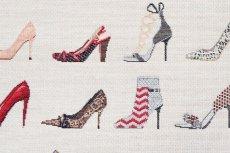 画像12: 「F在庫」はぎれ70×50:ゴブラン織り タロン・エギュイーユ(ライトアイボリーベース) (12)