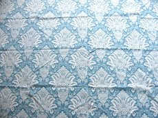 画像11: 「移動中」はぎれ70x50:ラミー・オーヌモン(ブルーアジュールベース)/ 105g (11)