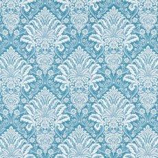 画像1: 「移動中」はぎれ70x50:ラミー・オーヌモン(ブルーアジュールベース)/ 105g (1)