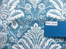 画像8: 「即納F」はぎれ70x50:ラミー・オーヌモン(ブルーアジュールベース)/ 105g (8)