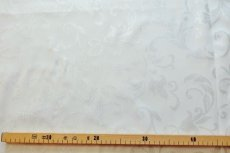 画像3: 「即納J」はぎれ70x49:グラン・オーヌモン(ジャカード、シルバーラメ)/115g (3)