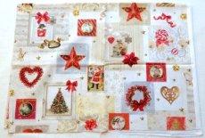 画像3: 「即納J」はぎれ70x50:クリスマスの天使たち(写真、額装風)/ 95g (3)